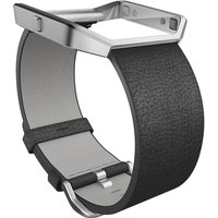 Image of Fitbit Blaze Small Leather Accessory Band - Black