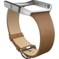 Image of Fitbit Blaze Small Leather Accessory Band - Brown