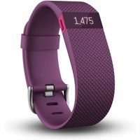 Fitbit Charge Heart Rate Monitor and Activity Tracker - Purple, Large