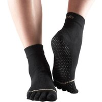 ToeSox Full Sock - Black, M