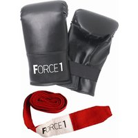 Image of Force1 Boxing Mitts and Wrist Wraps