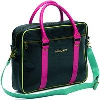 Head Travel Laptop Bag - Black/Electric