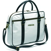 Head Travel Laptop Bag - White/Black