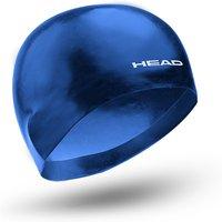 Head 3D Racing Swimming Cap - Blue, M