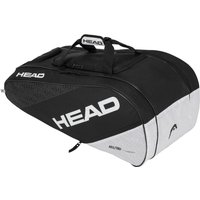 Head Elite All Court 8 Racket Bag - Black/White