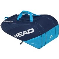 Head Elite All Court 8 Racket Bag - Navy/Blue