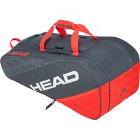Head Elite All Court 8 Racket Bag - Grey/Orange