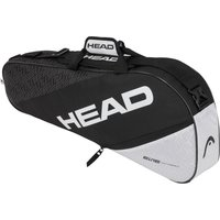 Head Elite Pro 3 Racket Bag - Black/White