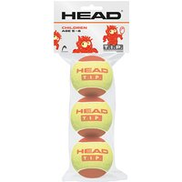 Head TIP Red Mini Tennis Balls - Pack of 3
