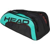 Head Tour Team Monstercombi 12R Racket Bag - Black/Blue
