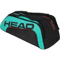 Head Tour Team Supercombi 9R Racket Bag - Black/Blue