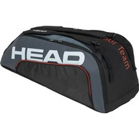 Head Tour Team Supercombi 9R Racket Bag - Black/Grey