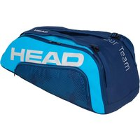 Head Tour Team Supercombi 9R Racket Bag - Navy/Blue