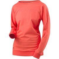 Head Transition Sweat Ladies Long Sleeve Top - Coral, L