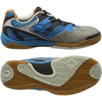 Hi-Tec Ad Pro Elite Mens Court Shoes - Blue/Black, 6.5 UK