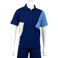 Karakal Dijon Button Polo Shirt - Navy, L