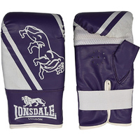 Image of Lonsdale Club Bag Mitts - Purple, S/M