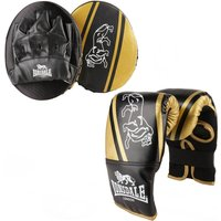 Image of Lonsdale Club Junior Glove and Pad Set