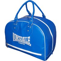 Lonsdale Cruiser Leather Style Holdall - Blue