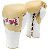 Lonsdale Ultimate Pro Mk II Fight Gloves - Gold, 10oz