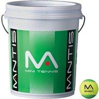 MANTIS Stage 1 Green Tennis Balls Bucket 6 Dozen