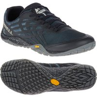 Merrell Trail Glove 4 Mens Running Shoes - Black, 10 UK