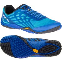 Merrell Trail Glove 4 Mens Running Shoes - Blue, 8 UK