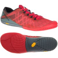 Merrell Vapor Glove 3 Mens Running Shoes - Red, 9.5 UK