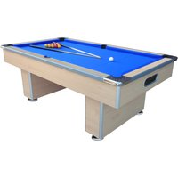 Mightymast 7ft Speedster Pool Table - Beech