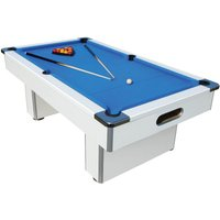 Mightymast 7ft Speedster Pool Table - White