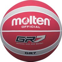 Molten BGR Coloured Basketball - Size 6, Red/White