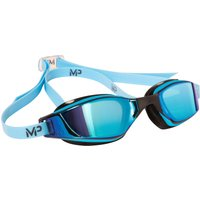 MP Michael Phelps Xceed Titanium Swimming Goggles - Blue/Black
