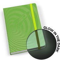 Mustard Glowbook Notebook - Green