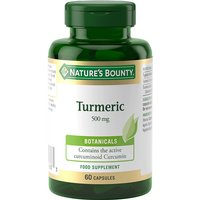 Image of Natures Bounty Turmeric 500mg - 60 Capsules