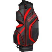 Ogio Press Golf Cart Bag - Black/Red