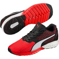 Puma Ignite Dual Mens Running Shoes - Red/Black, 7 UK