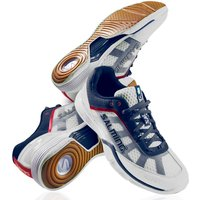 Salming Viper Mens Court Shoes - White/Navy, 7 UK