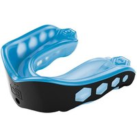 Image of Shock Doctor Gel Max Adult Mouthguard - Blue/Black