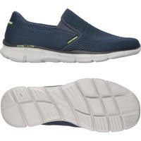 Skechers Equalizer Double Play Mens Walking Shoes AW16 - Navy, 9 UK