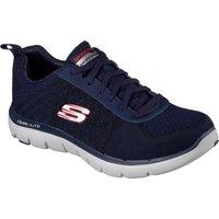 Skechers Flex Advantage 2.0 Golden Point Mens Athletic Shoes - Navy/Red, 9 UK