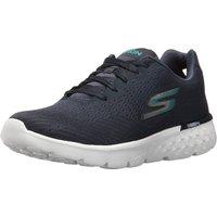 Skechers Go Run 400 Sole Ladies Running Shoes - Navy/White, 8 UK