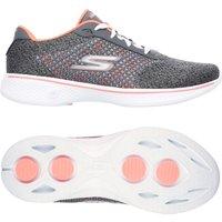 Skechers Go Walk 4 Exceed Ladies Walking Shoes - Grey, 5 UK