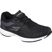 Skechers Go Walk Sport Lace up Ladies Walking Shoes - Black/White, 4.5 UK