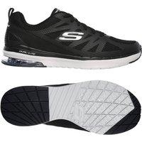 Skechers Skech-Air Infinity Kilgore Mens Training Shoes - Black/Grey, 11 UK