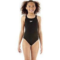 Speedo Endurance Medalist Girls Swim Suit - Black, 32
