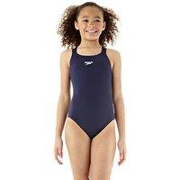 Speedo Endurance Medalist Girls Swim Suit - Navy, 32