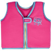 Speedo Sea Squad Girls Float Vest - 4 - 6 Years
