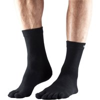 ToeSox Full Toe Crew Ultralite Socks - L