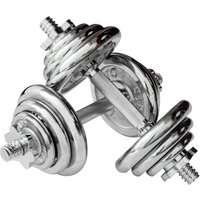 Image of Viavito 20kg Chrome Dumbbell Set