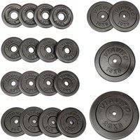 Image of Viavito Cast Iron Standard Weight Plates - 1 x 20kg